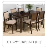 COS-AMY DINING SET (1+6)